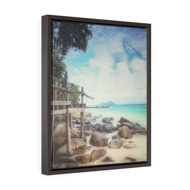 Kiss the Sky Phi Phi Island Canvas Print - Illusion Photograph -Canvas
