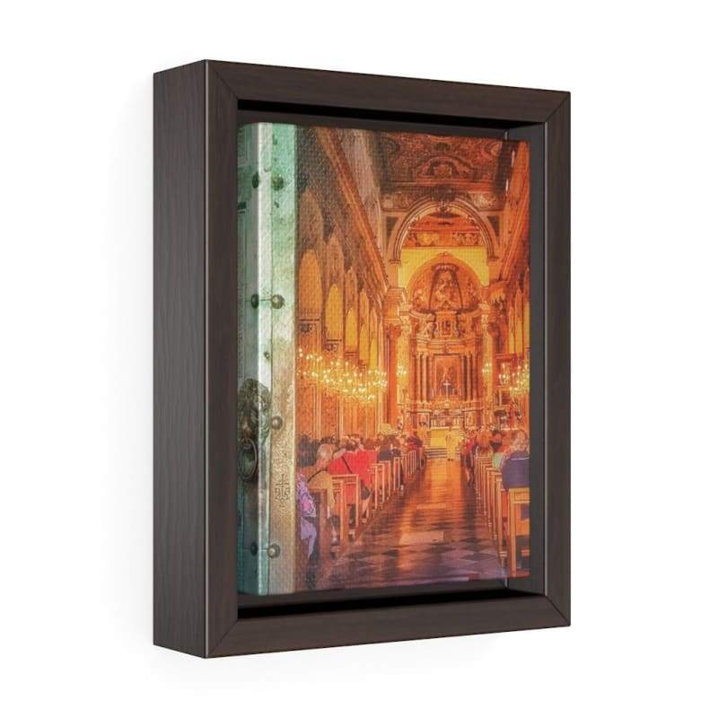 Take Me to Church- Italian Cathedral Canvas Art - Illusion Photograph -Canvas