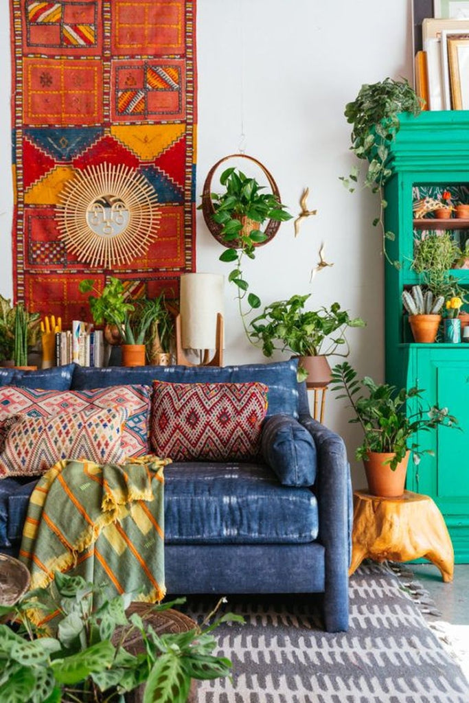 bohemian home decor moroccan