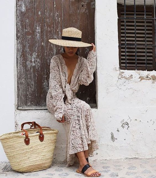 Straw, Wicker & Raffia basket fashion