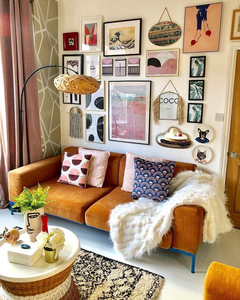 How to mix & match throw pillows