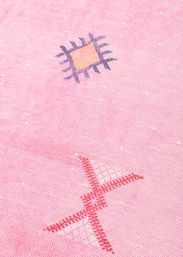 Pink Moroccan Rug