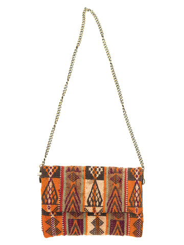 moroccan berber kilim clutch bag ethnic shoulder bag boho chic