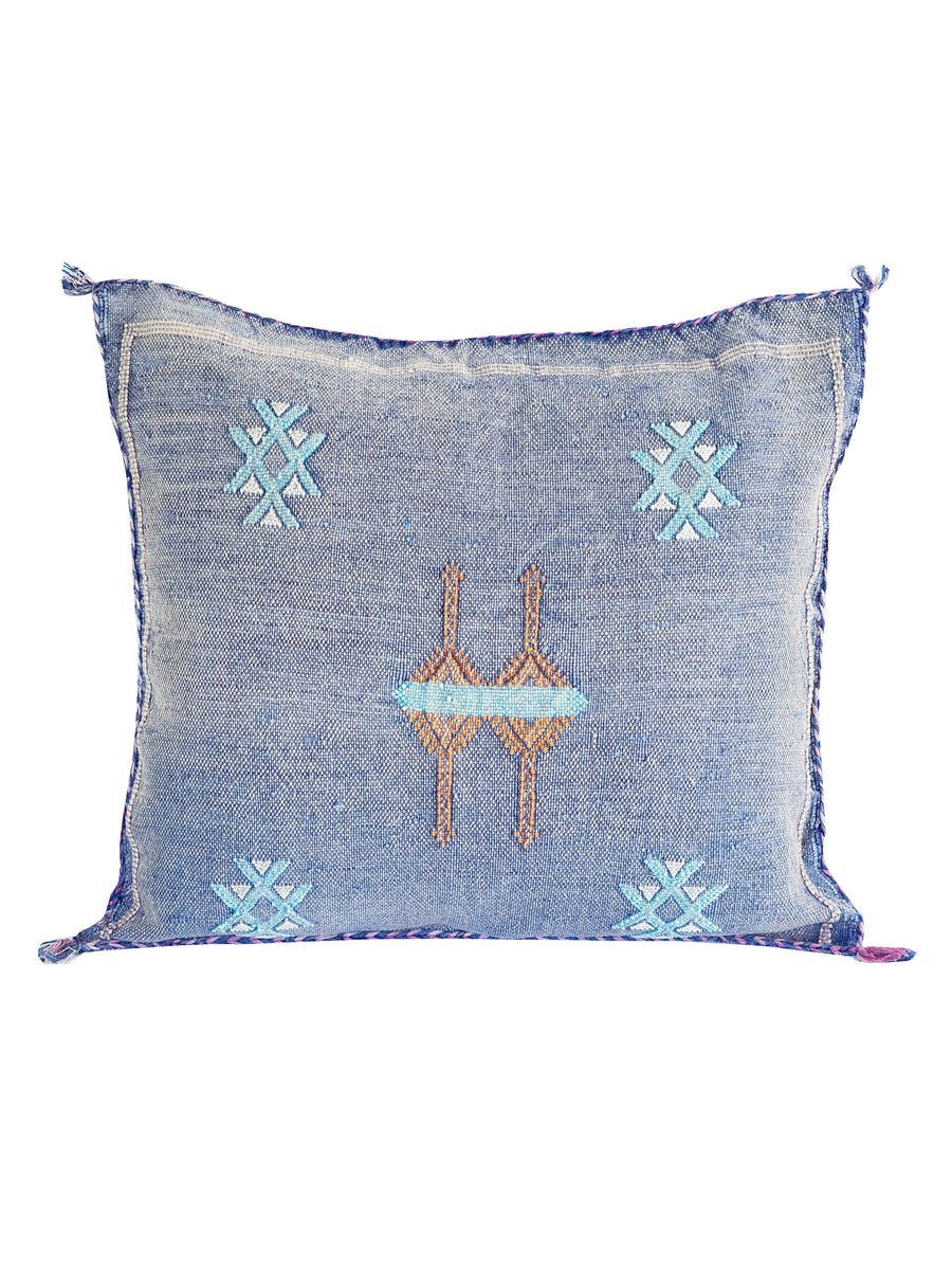 moroccan vegan cactus silk pillow decorative cushion bohemian