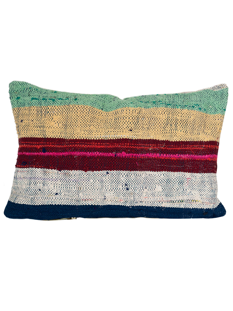 moroccan recycled cotton bouchervouite pillow