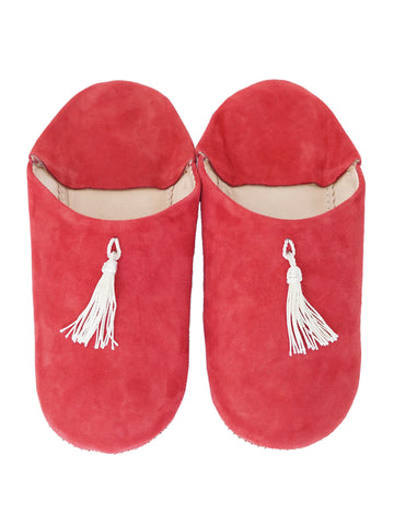 Suede Babouche Home Slippers