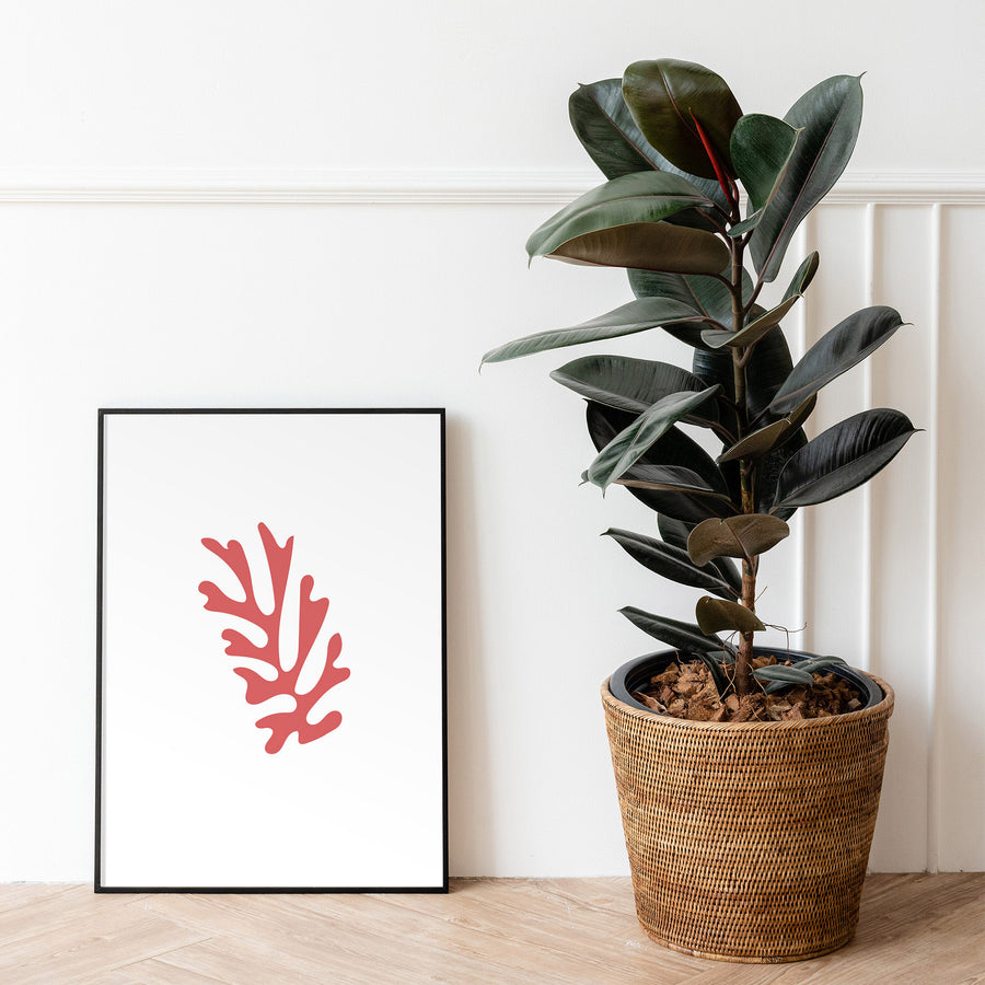 Digital Download / Henri Matisse Poster / Minimal Boho Print / Henri Matisse Cut-Out Print / Matisse Wall Art / Leaf Illustration