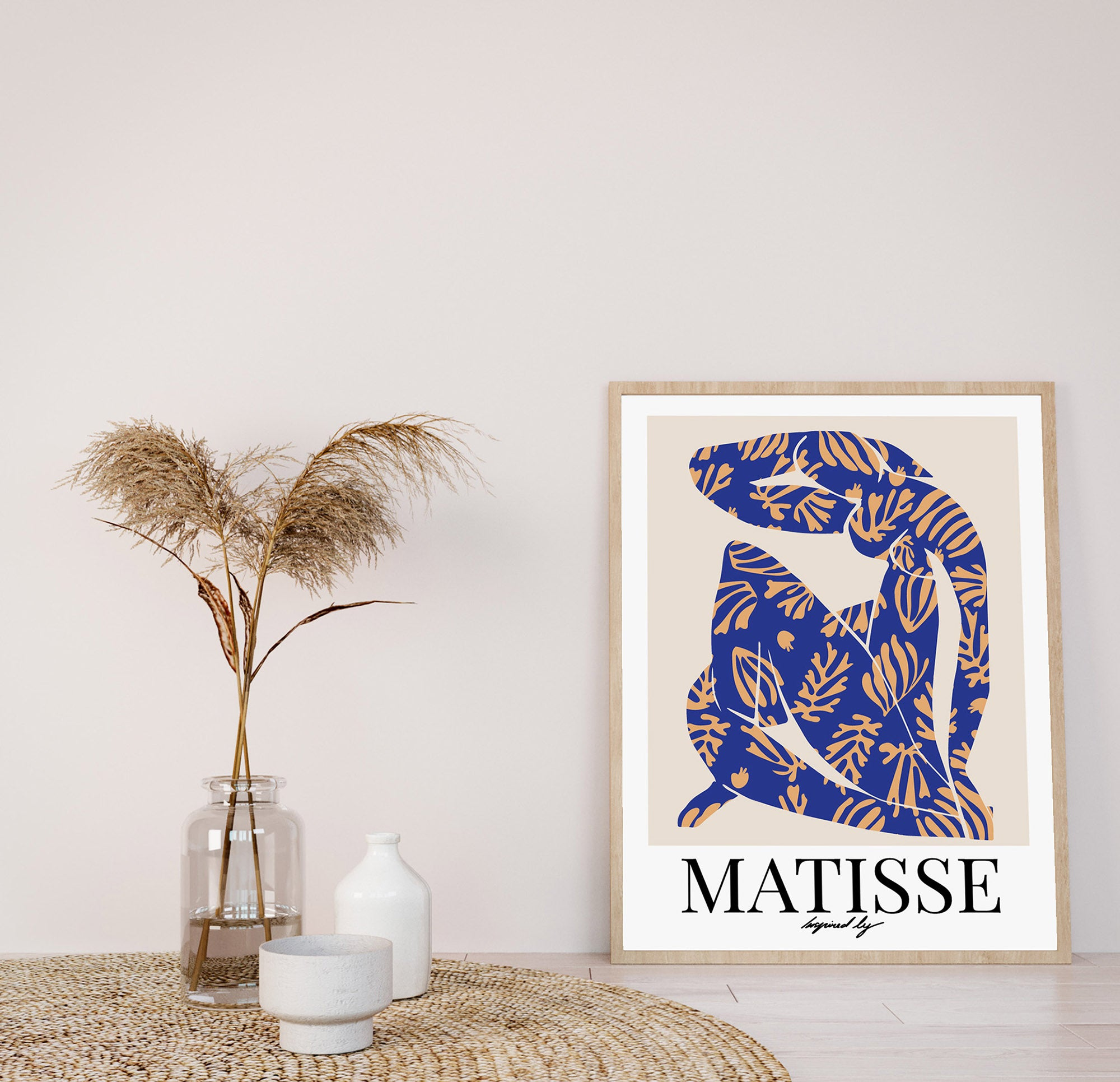Henri Matisse Blue Nude 1953 Exhibition Poster Nude Woman