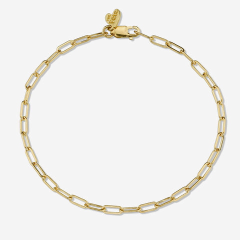 14K SOLID GOLD BRACELET CHAIN