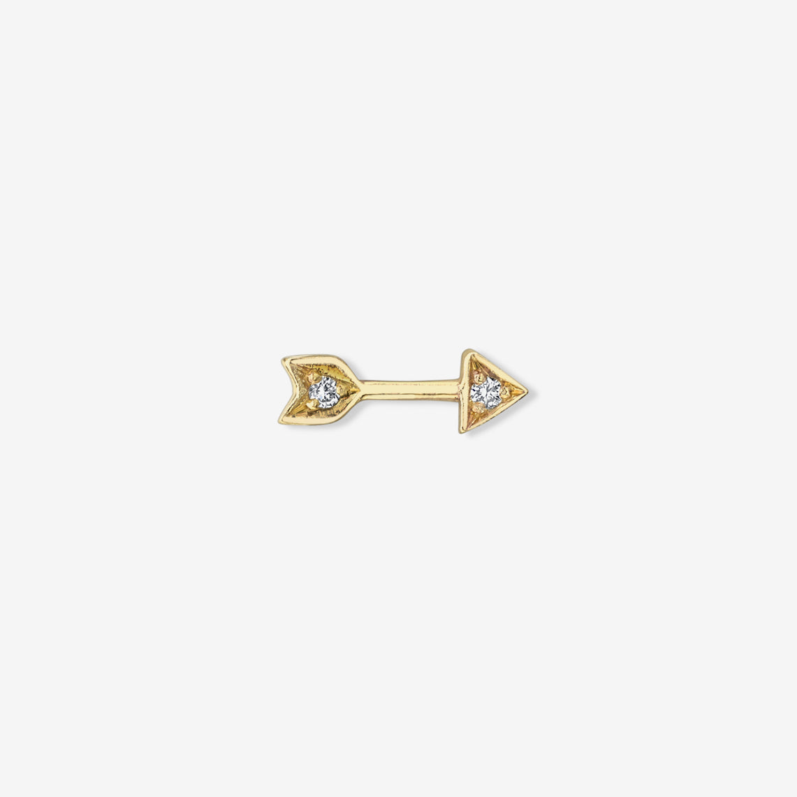 ARROW DIAMOND STUD