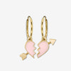 BFF EARRINGS / PINK