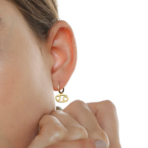 CANCER EARRING
