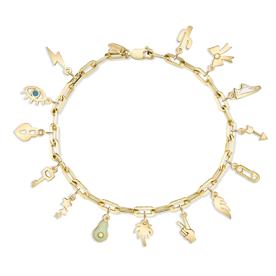 14K GOLD-FILLED BRACELET CHAIN