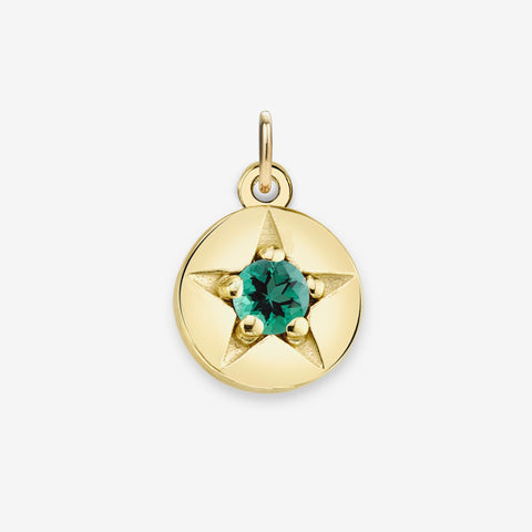 EMERALD (MAY) CHARM