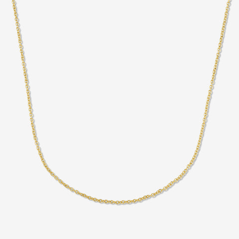 14K GOLD-FILLED CHAIN NECKLACE