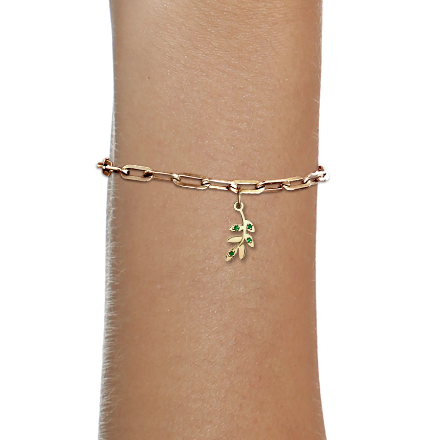 OLIVE BRANCH CHARM