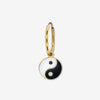 YIN YANG EARRING / DIAMONDS
