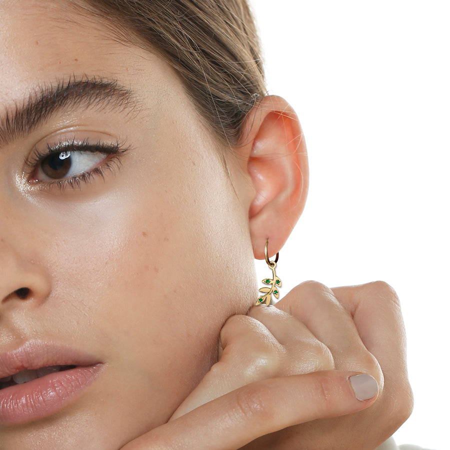 OLIVE BRANCH EARRING