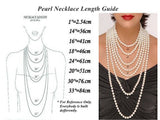 11-13mm white large Freshwater Pearl necklace strand 18