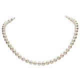 Lily Treacy Japanese Akoya Pearl 14K gold clasp Necklace strand white bridal wedding 18