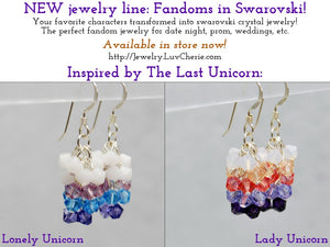 NEW Jewelry Line: Fandoms in Swarovski!