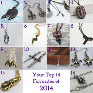 Your Top 14 Favorites of 2014