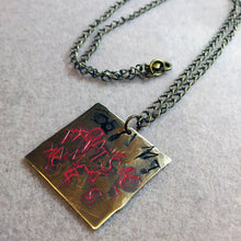Abstract Make It So Star Trek TNG Inspired Necklace