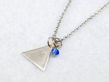 Team Mystic Inspired Necklace in Silver - Pokemon Go Teams