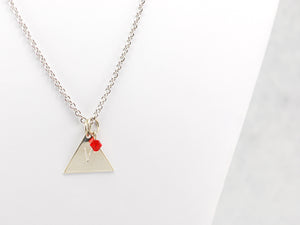 Team Valor Inspired Necklace in Silver -  Pokemon Go Teams