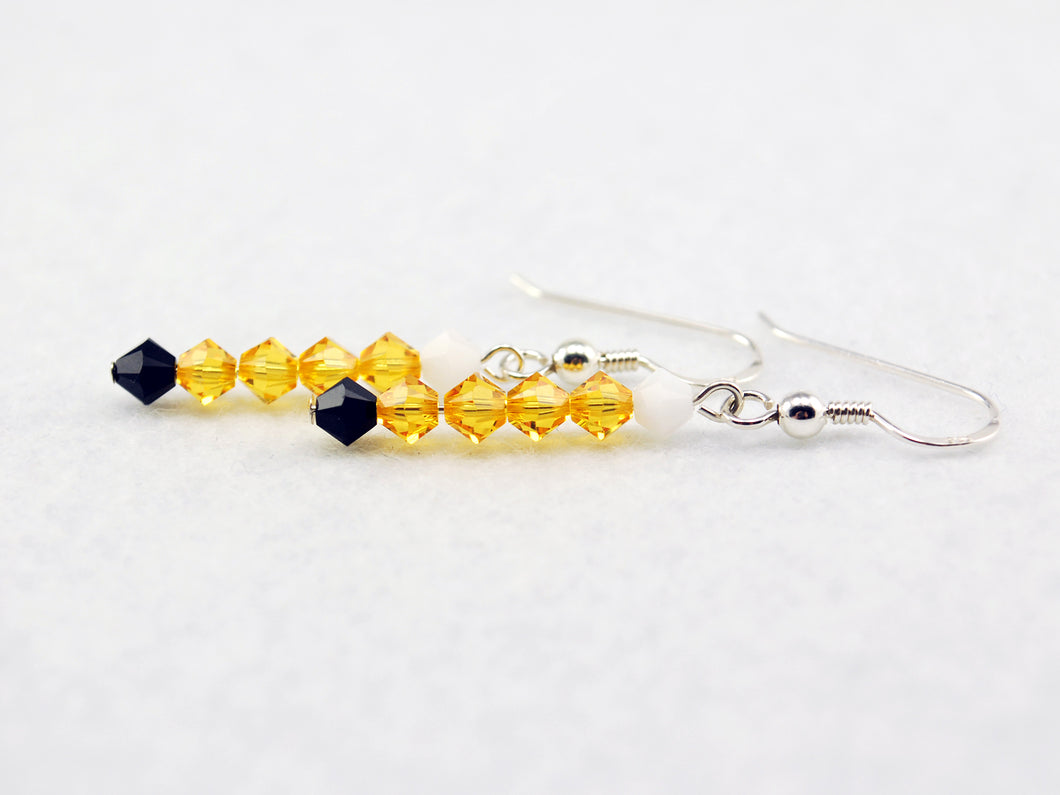Jake the Dog Stick Earrings Inspired by Adventure Time - Fandoms in Swarovski