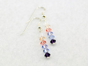Lady Amalthea Stick Earrings Inspired by The Last Unicorn – Fandoms in Swarovski