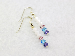 Lonely Unicorn Stick Earrings Inspired by The Last Unicorn – Fandoms in Swarovski