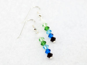 Finn Stick Earrings Inspired by Adventure Time - Fandoms in Swarovski
