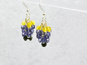 Lumpy Space Princess Earrings Inspired by Adventure Time - Fandoms in Swarovski by LuvCherie Jewelry