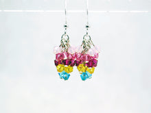 Princess Bubblegum Earrings Inspired by Adventure Time - Fandoms in Swarovski by LuvCherie Jewelry