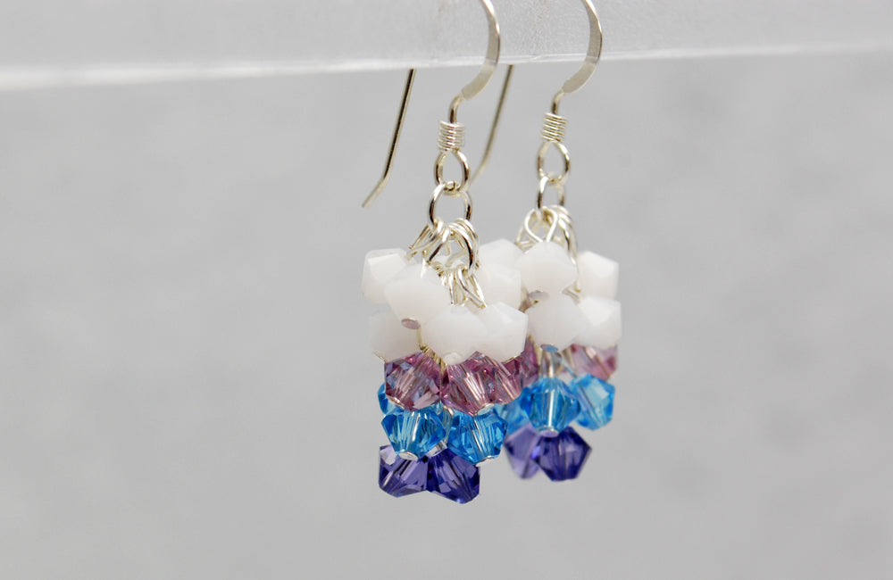 Lonely Unicorn Earrings Inspired by The Last Unicorn - Fandoms in Swarovski by LuvCherie Jewelry
