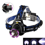 5,000 Lumen LED Headlamp with Charger