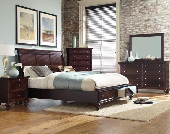 Pottery Barn Style Storage Platform Bedroom Set by Lifestyle | For ...