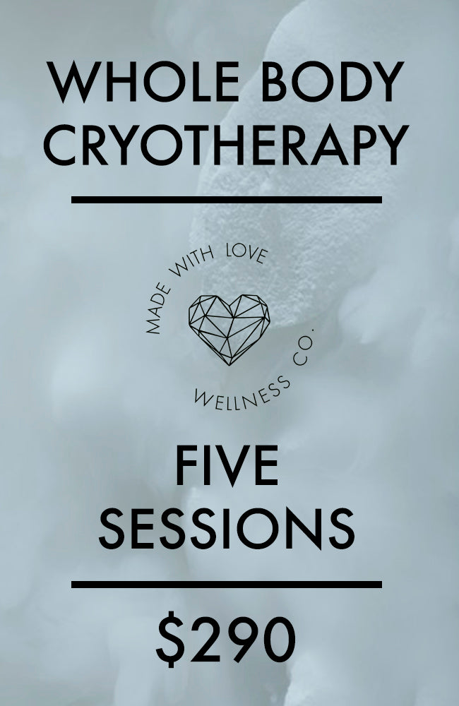 Cryotherapy - Five Sessions