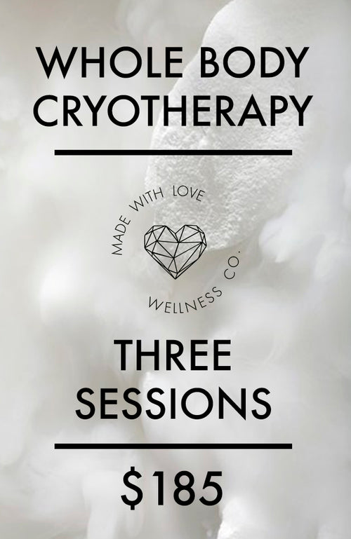 Cryotherapy - Three Sessions
