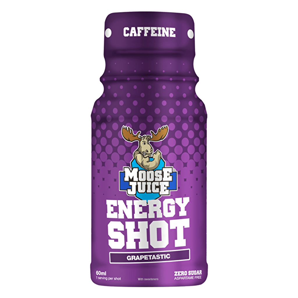 Muscle Moose Energy Shot Grapetastic, Energy Drinks, Muscle Moose, Protein Package Protein Package Pick and Mix Protein UK