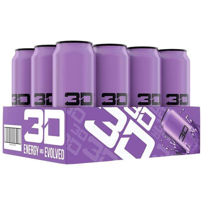 Christian Guzman's 3D Energy Drink Purple Grape - Protein Package