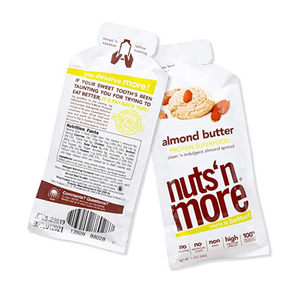 Nuts 'N More Peanut Butter Protein Spread Box (10 Sachets), Protein Spread, Nuts N' More, Protein Package Protein Package Pick and Mix Protein UK