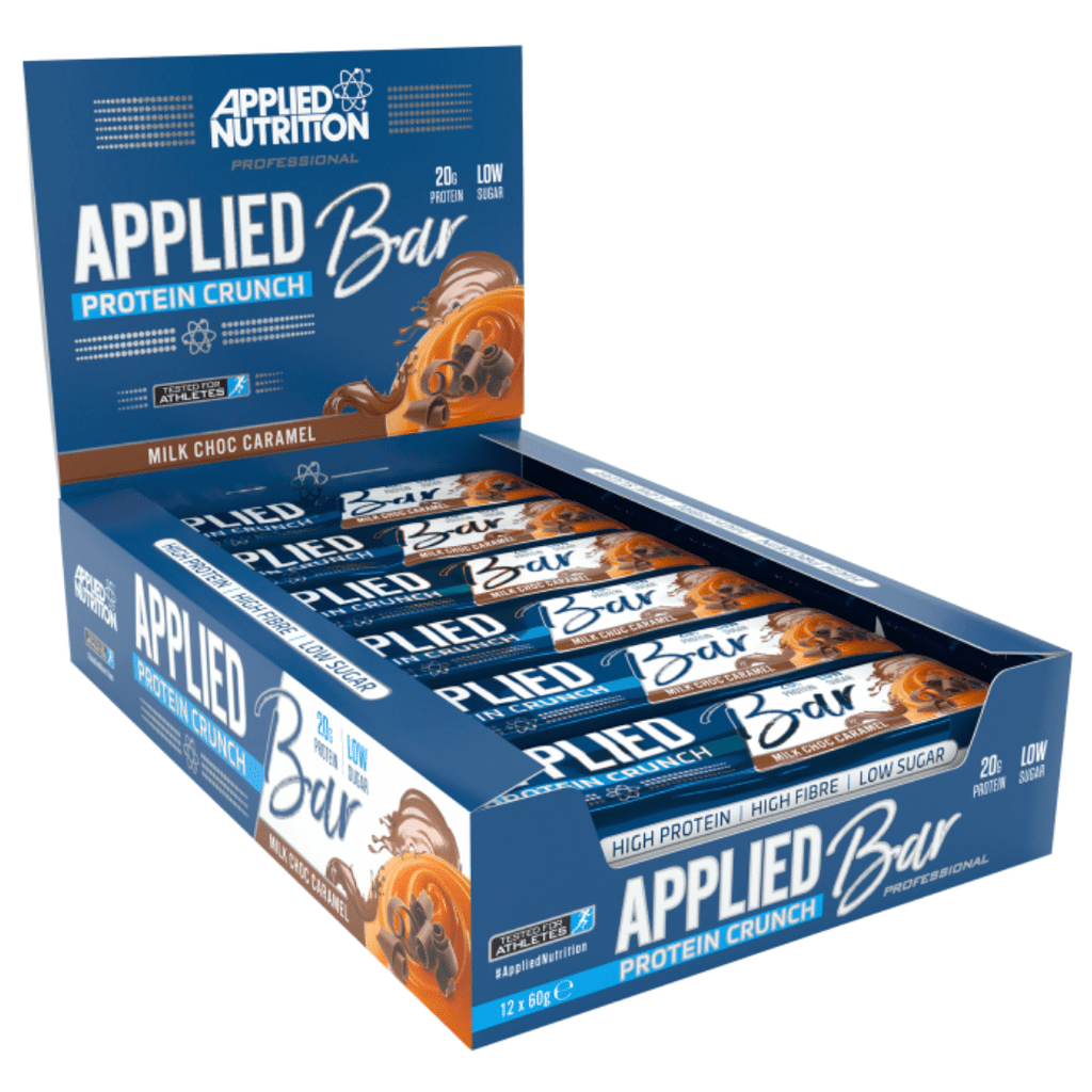 Applied Nutrition Protein Bar Milk Chocolate Caramel, Protein Bars, Applied Nutrition, Protein Package Protein Package Pick and Mix Protein UK