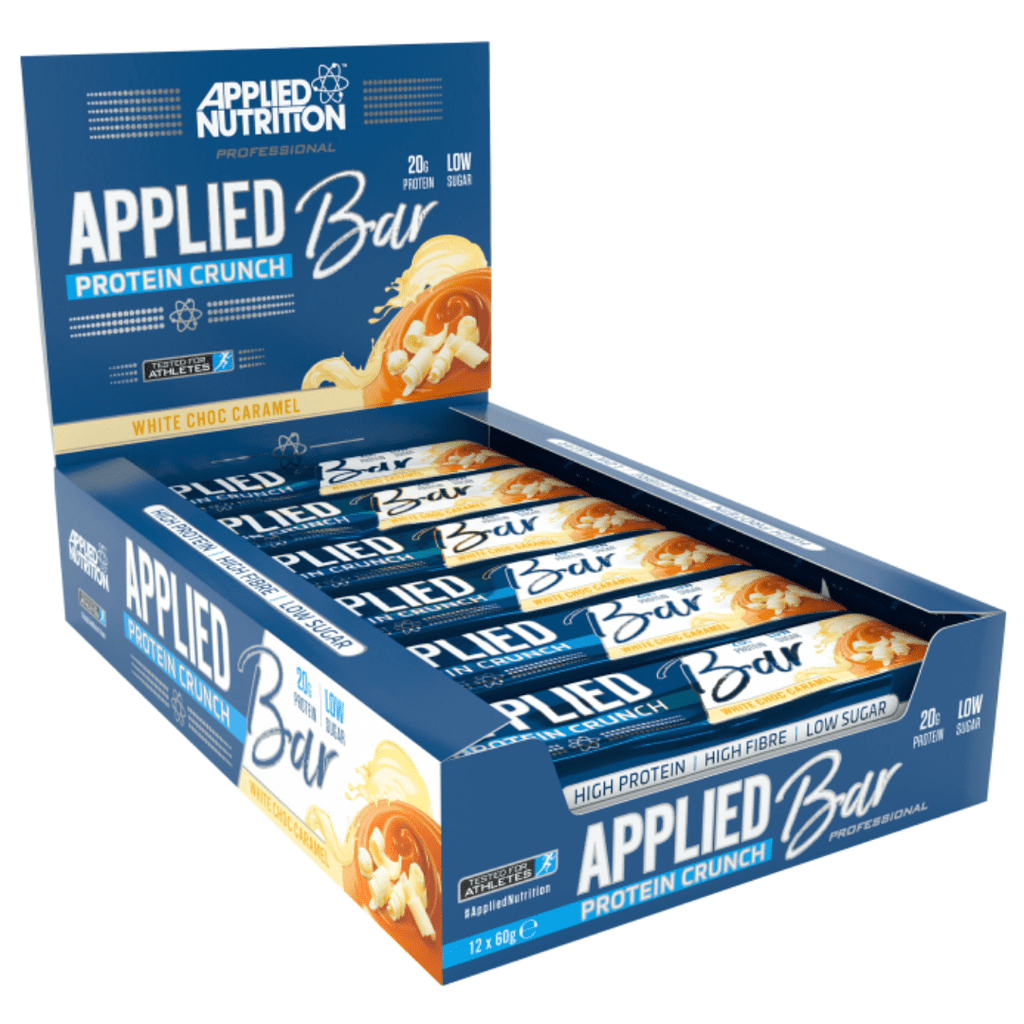 Applied Nutrition Protein Bar White Chocolate Caramel, Protein Bars, Applied Nutrition, Protein Package Protein Package Pick and Mix Protein UK