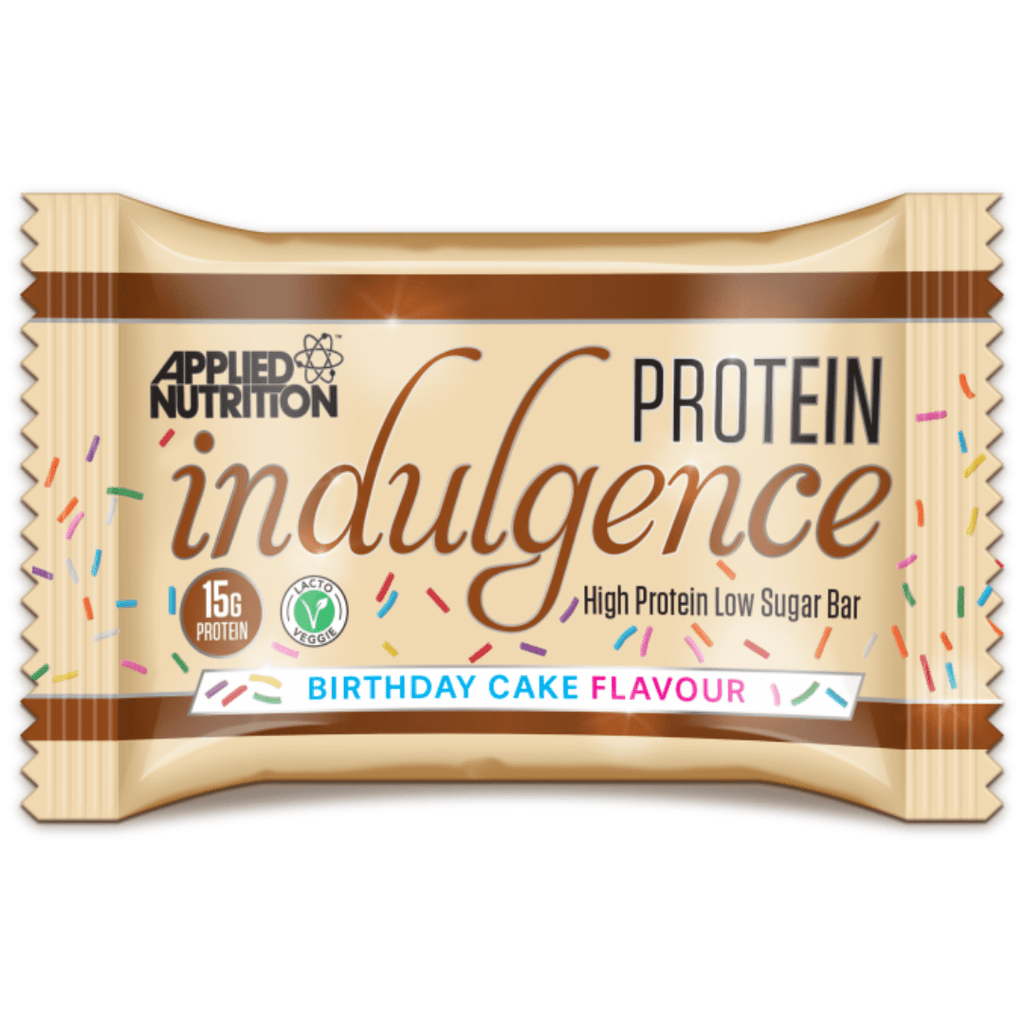 Applied Nutrition Protein Indulgence Bar Birthday Cake, Protein Bars, Applied Nutrition, Protein Package Protein Package Pick and Mix Protein UK