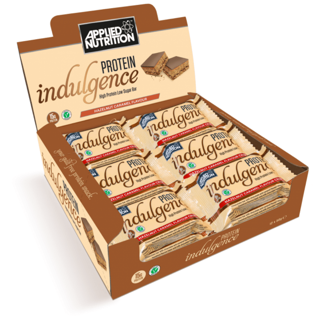 Applied Nutrition Protein Indulgence Bar Hazelnut Caramel, Protein Bars, Applied Nutrition, Protein Package Protein Package Pick and Mix Protein UK