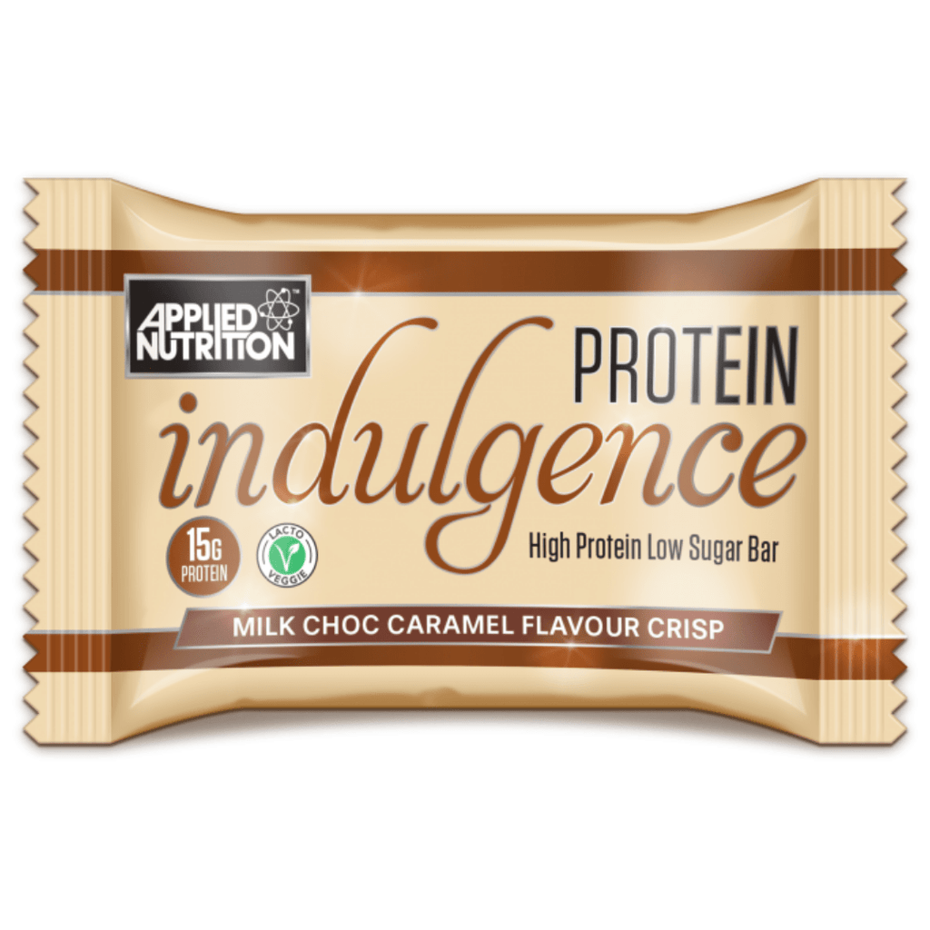 Applied Nutrition Protein Indulgence Bar Milk Chocolate Caramel, Protein Bars, Applied Nutrition, Protein Package, Pick and Mix Protein UK