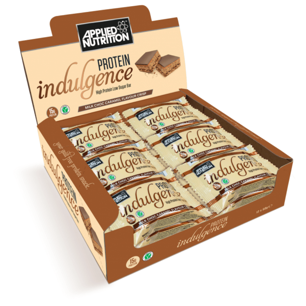 Applied Nutrition Protein Indulgence Bar Milk Chocolate Caramel, Protein Bars, Applied Nutrition, Protein Package Protein Package Pick and Mix Protein UK