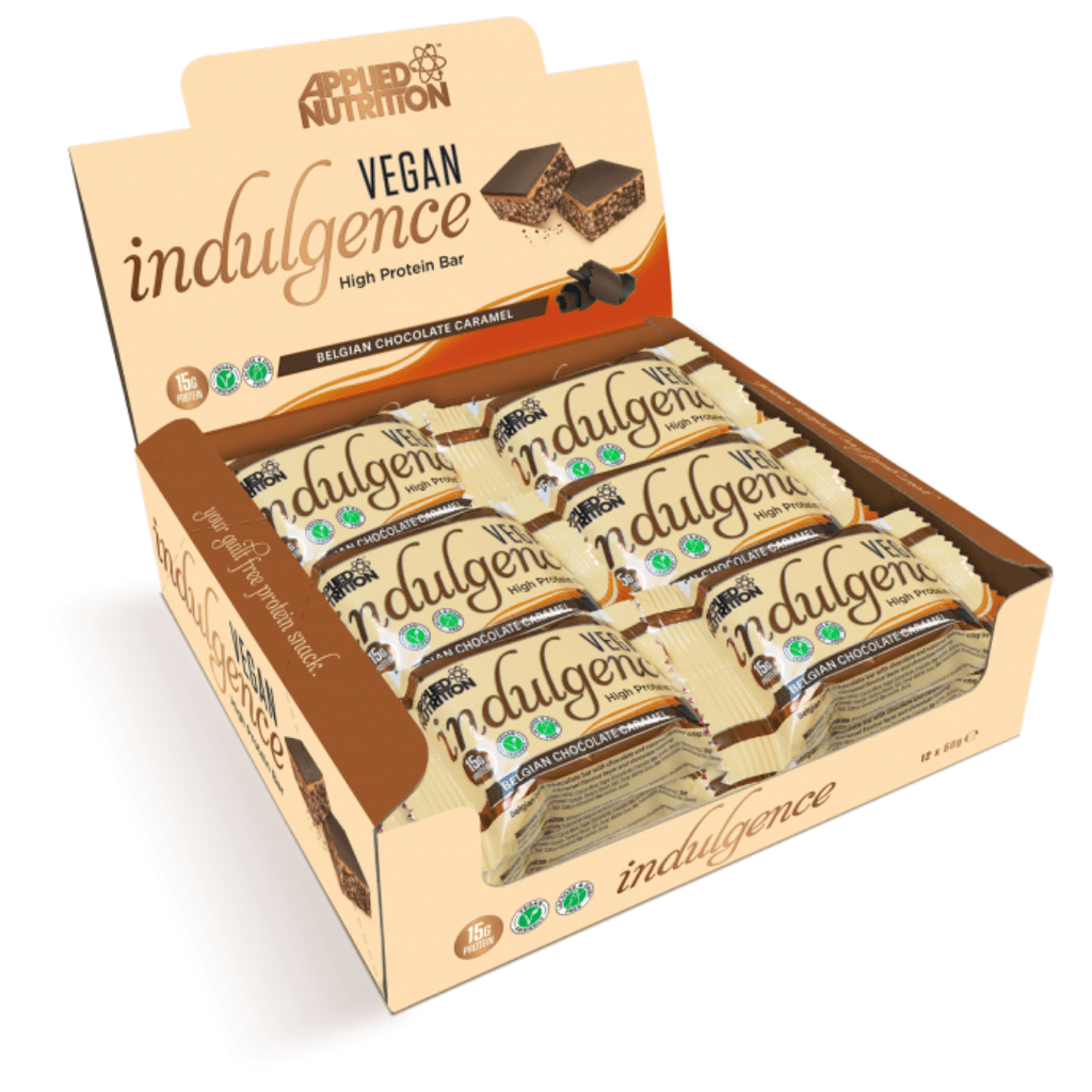 Applied Nutrition Vegan Indulgence Bar Belgian Dark Chocolate, Protein Bars, Applied Nutrition, Protein Package, Pick and Mix Protein UK